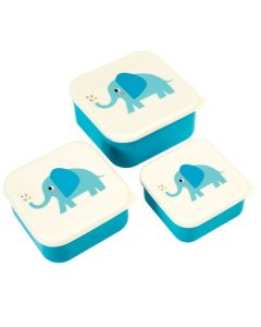Kids Snack Boxes - Elephants