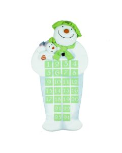 Snowman and Snow Dog Advent Calendar