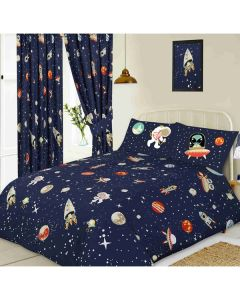 Outer Space Duvet Cover Single