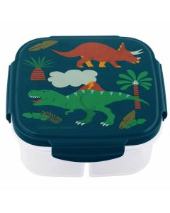 Children's Snack Box with Ice Pack - Dinosaurs