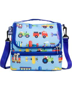 Dual Compartment Lunch Bag - Transportation