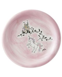 Children's Ceramic Unicorn Plate