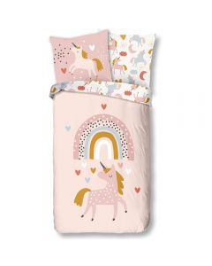 Rainbow Unicorn Duvet Cover 100% Cotton