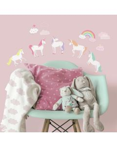 Children's Unicorn Wall Stickers by RoomMates