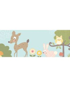 Woodland Animals Wall sticker Border