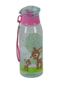 Children's Plastic Water Bottle 500 ml - Woodland