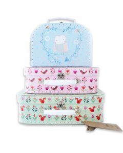 woodland friends suitcase